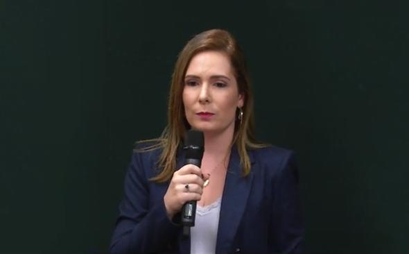 Delegada Patrícia Domingos vai a Brasília e pede reabertura da Decasp