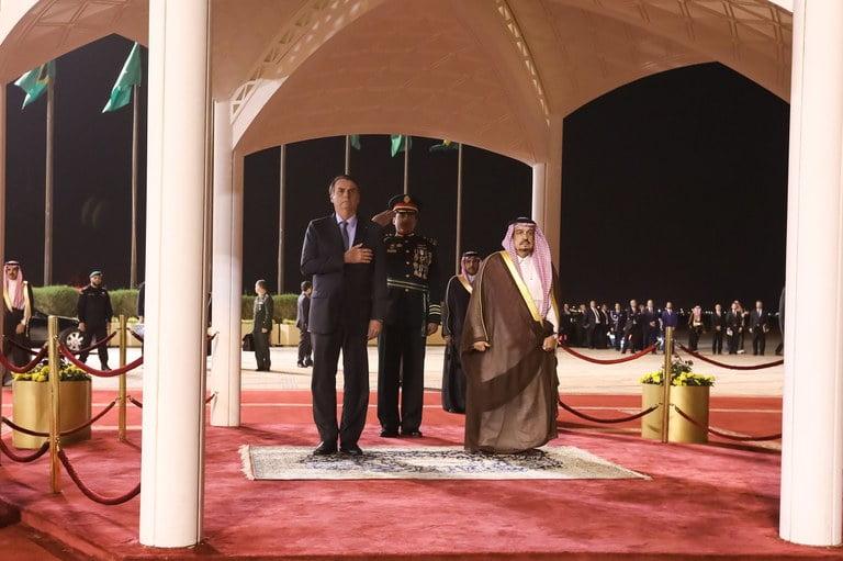 Presidente visita Arábia Saudita, principal parceiro comercial do Brasil no Oriente Médio