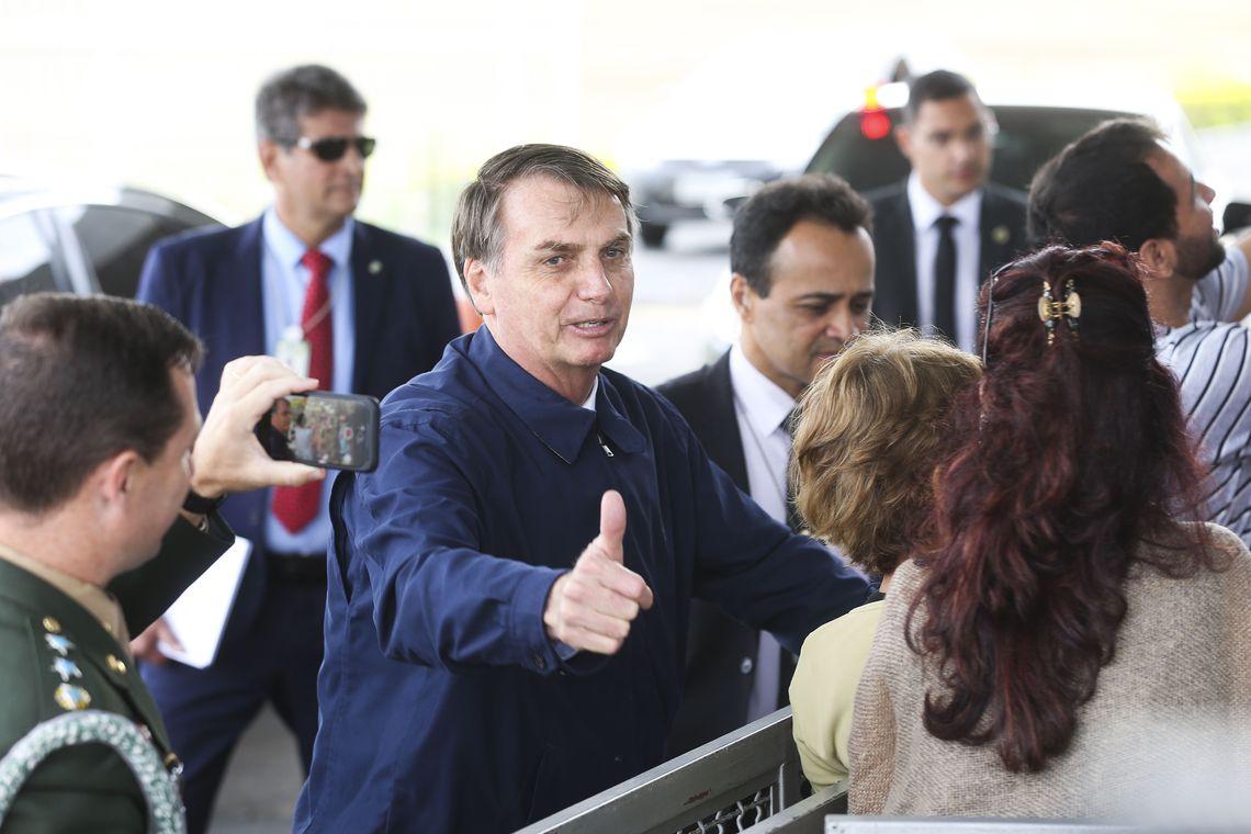 Bolsonaro desafia veículos de imprensa a mostrarem o momento em que ele foi vaiado em Aparecida