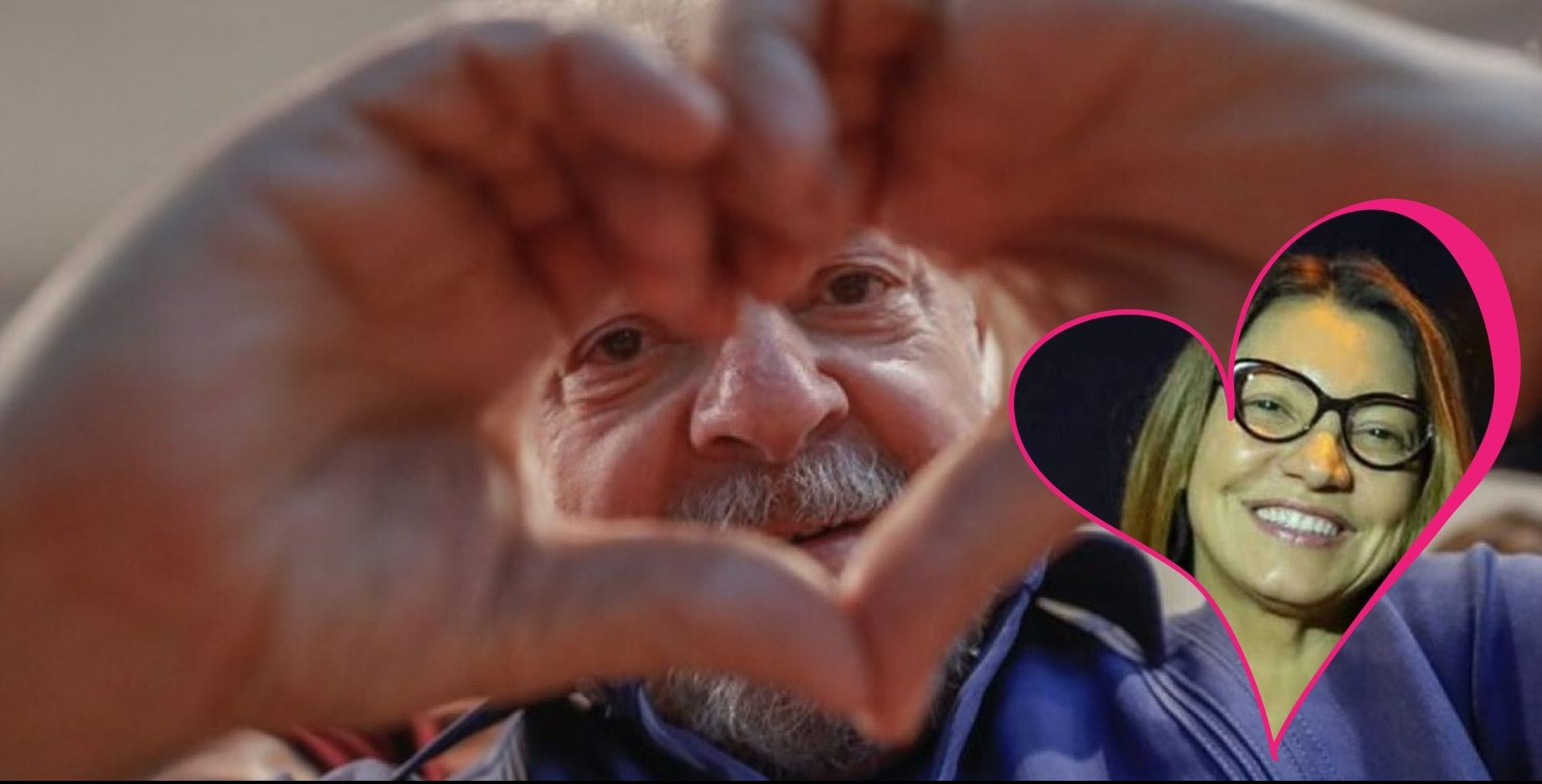 """Namorada de Lula comemora possível saída: """"Vou te buscar, me espera"""""""