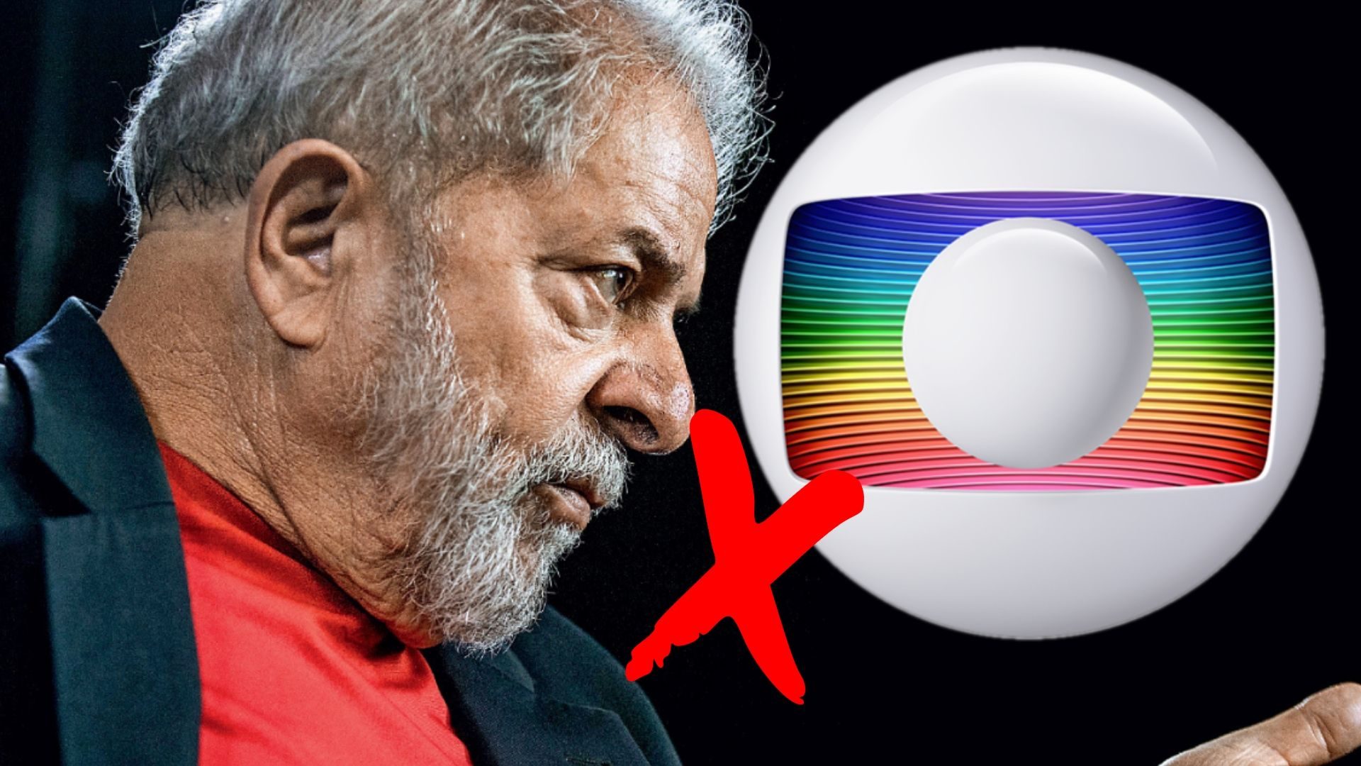 """Lula acusa Globo por sua condenação: """"A história do Brasil seria outra"""""""