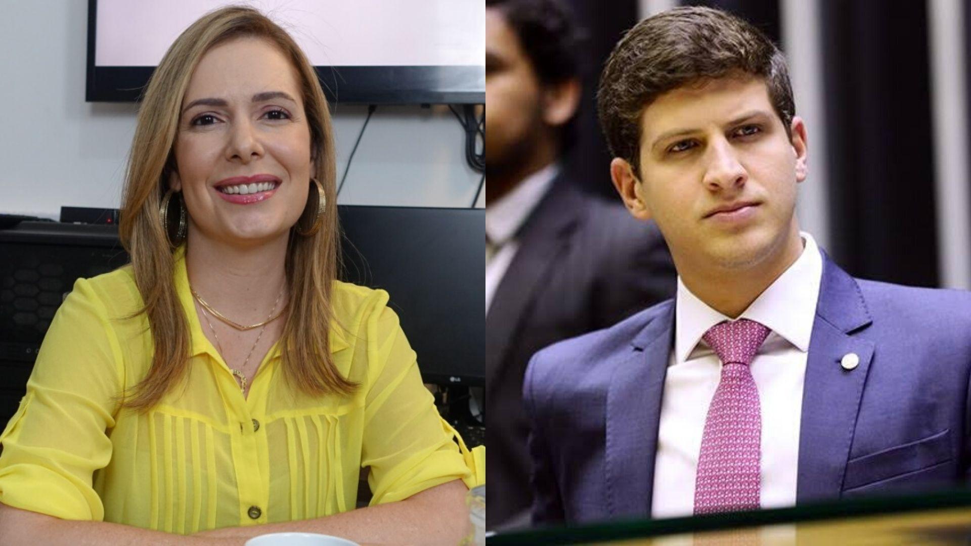 """Patrícia sobre João Campos: """"Voto em pessoas que têm história e trabalho para mostrar"""""""