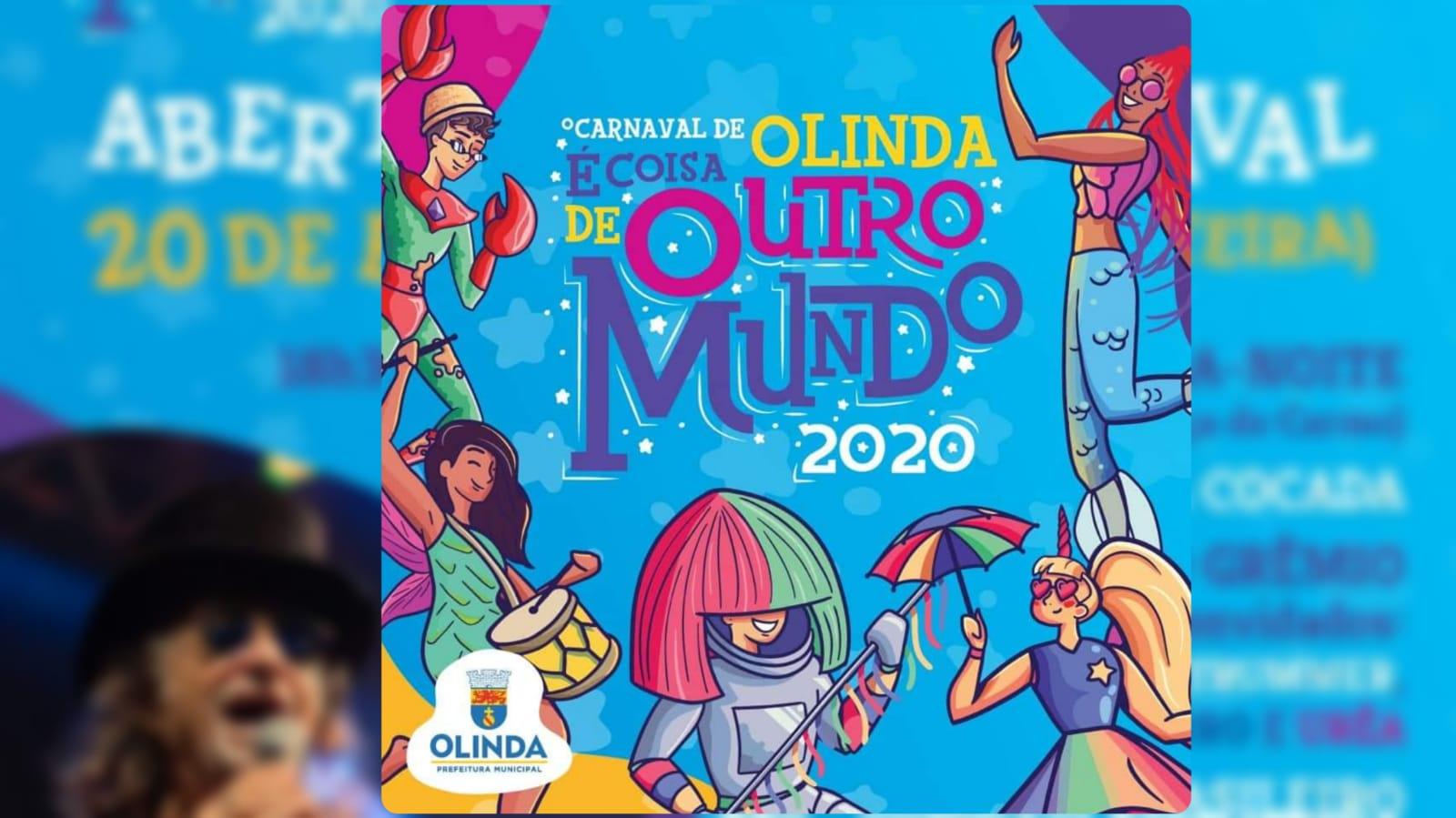 Prefeitura de Olinda divulga atrações, tema, decoração e polos do Carnaval 2020