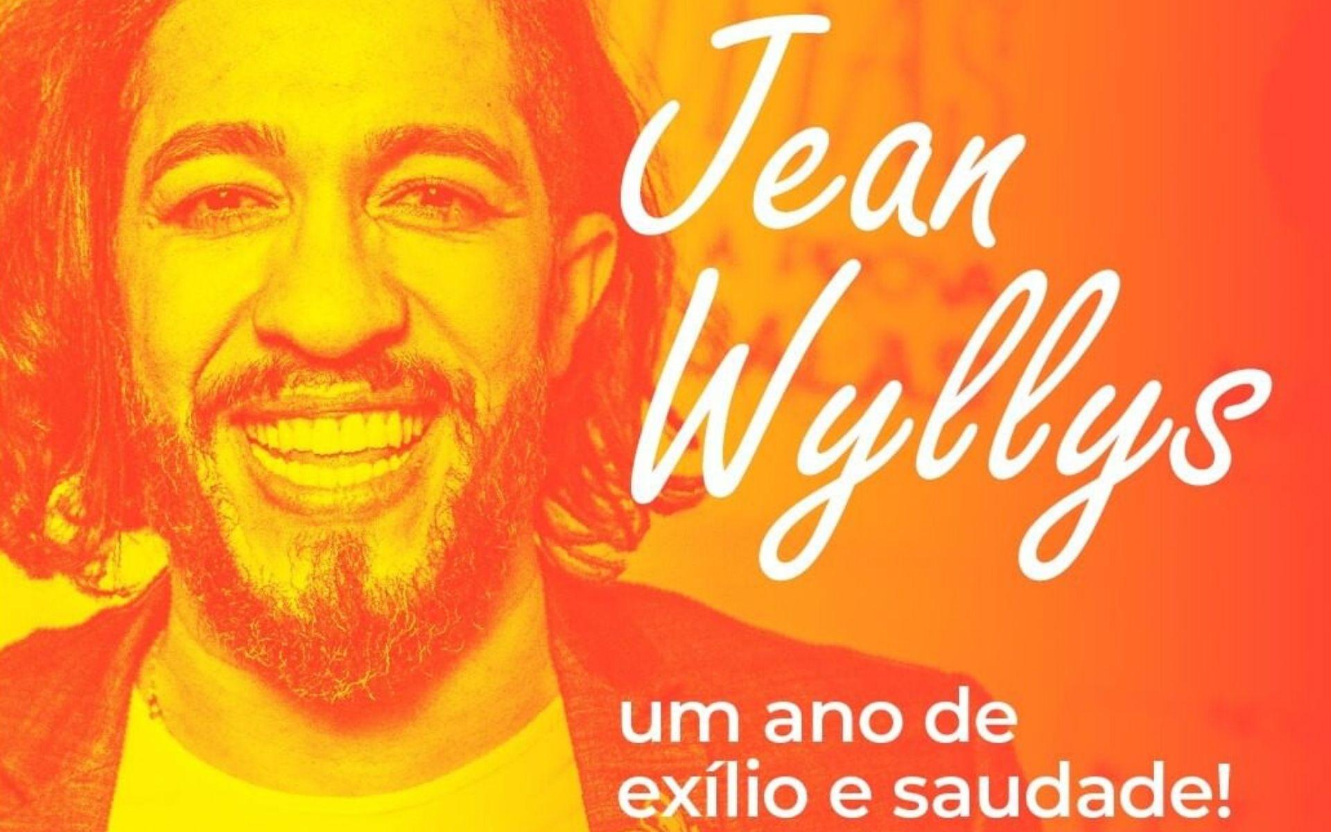PSOL reforça narrativa e diz que Jean Wyllys está exilado