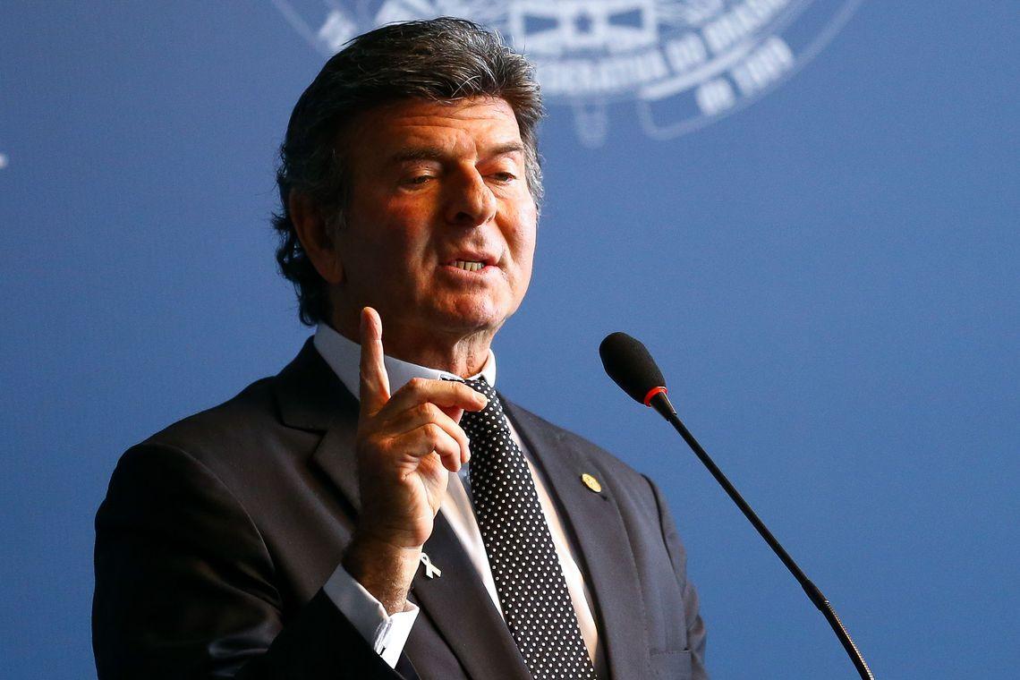 Luiz Fux assume a Presidência do STF
