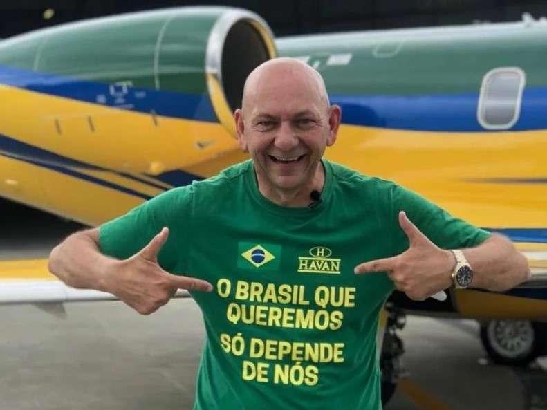 Apoiador de Bolsonaro, Luciano Hang visita João Pessoa-PB e anuncia contratação de 500 funcionários