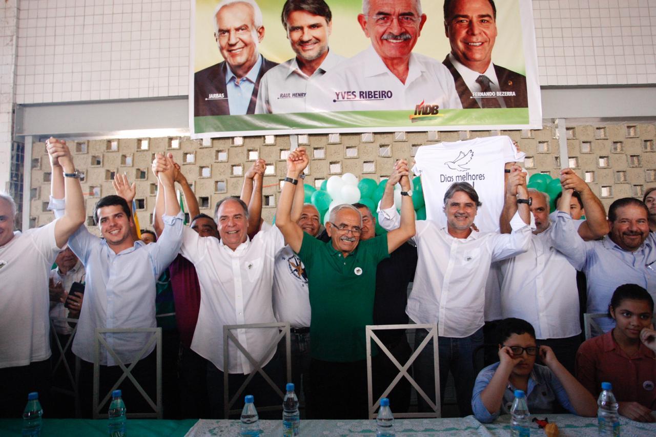 Em Paulista, MDB oficializa candidatura de Yves Ribeiro em convenção nesta terça-feira