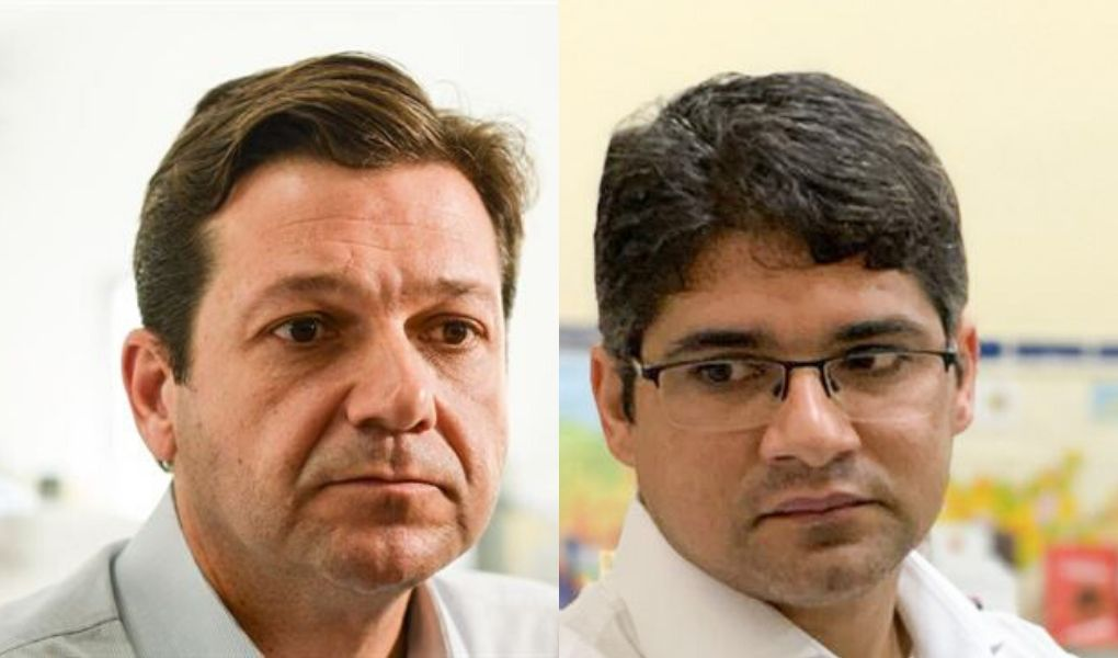 Renato Antunes faz 'blitz' em escolas municipais do Recife e chama Geraldo de irresponsável
