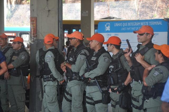Polícia Militar voltar a realizar Operação T.I. Seguro e faz ação no Terminal da Macaxeira