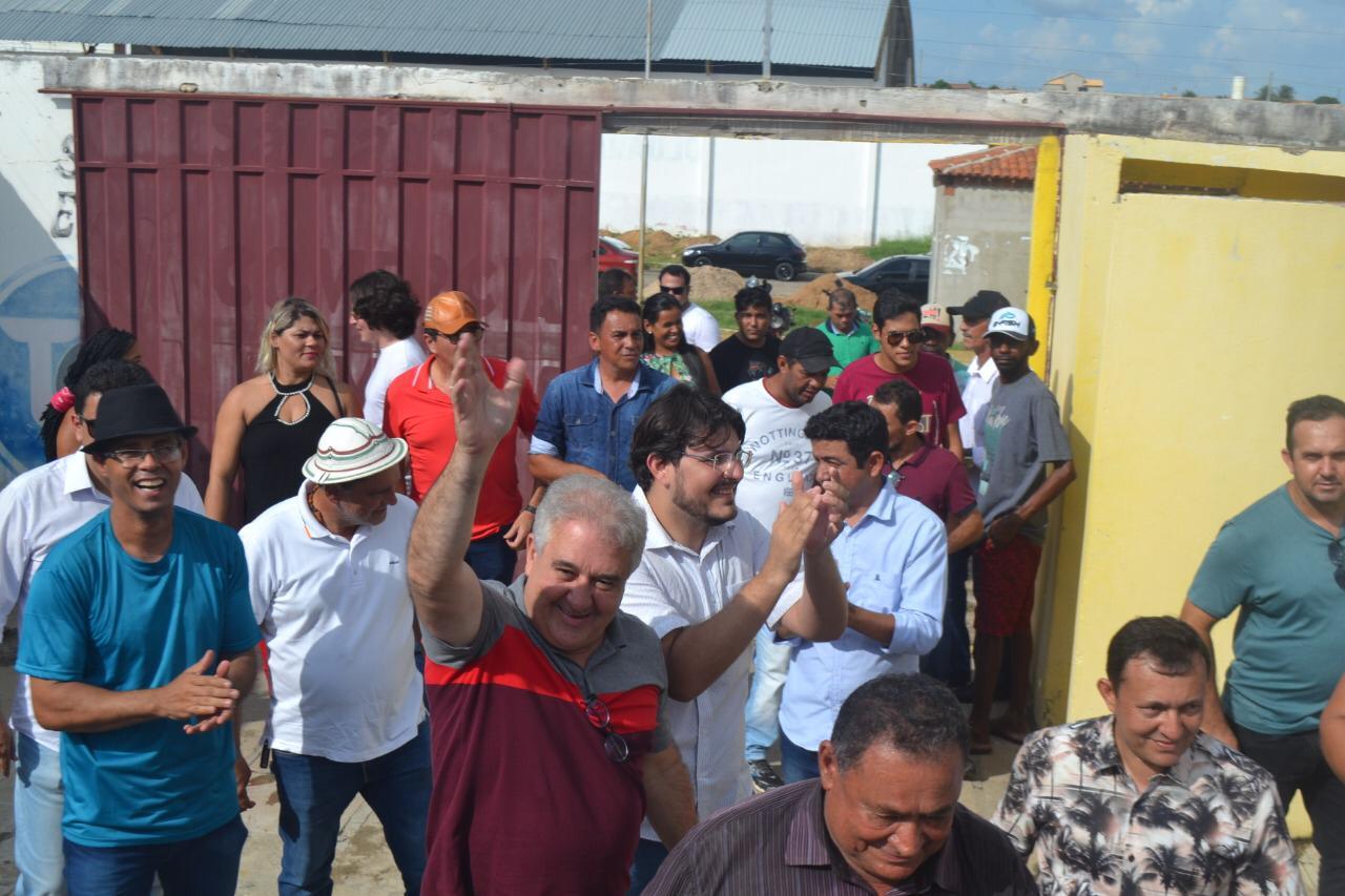 Multidão prestigia lançamento oficial da pré-candidatura de Ismael Lira a prefeito de Orocó