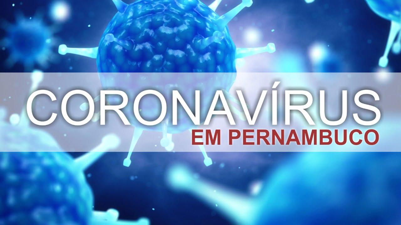 Coronavírus em Pernambuco.