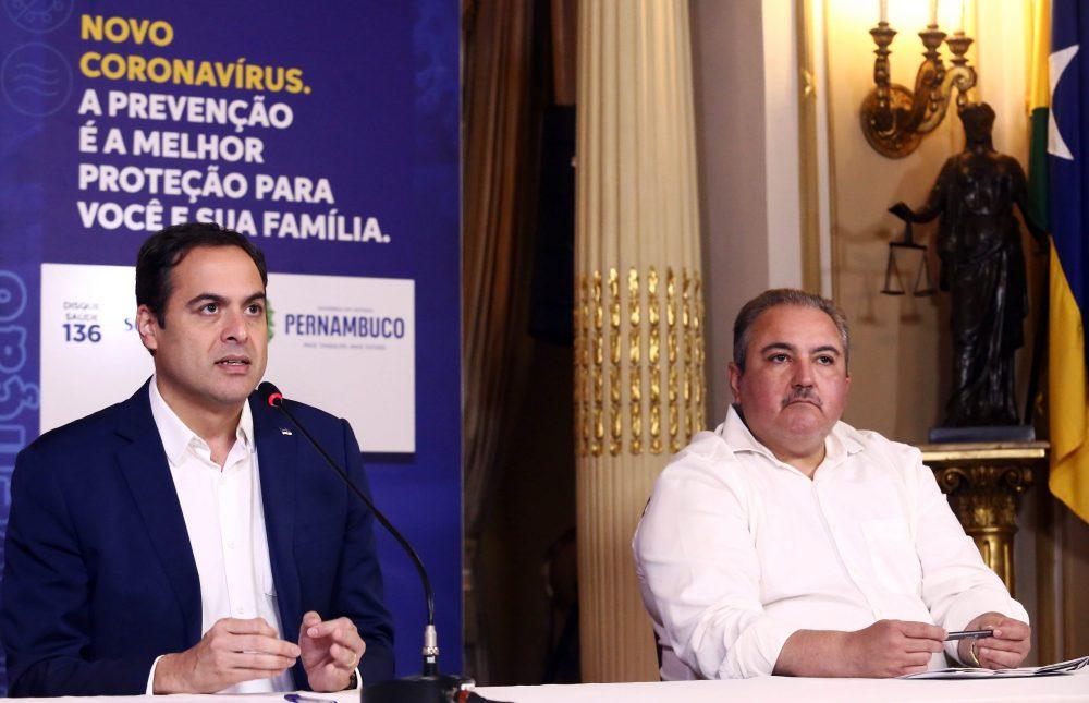 Governador de Pernambuco Paulo Câmara.