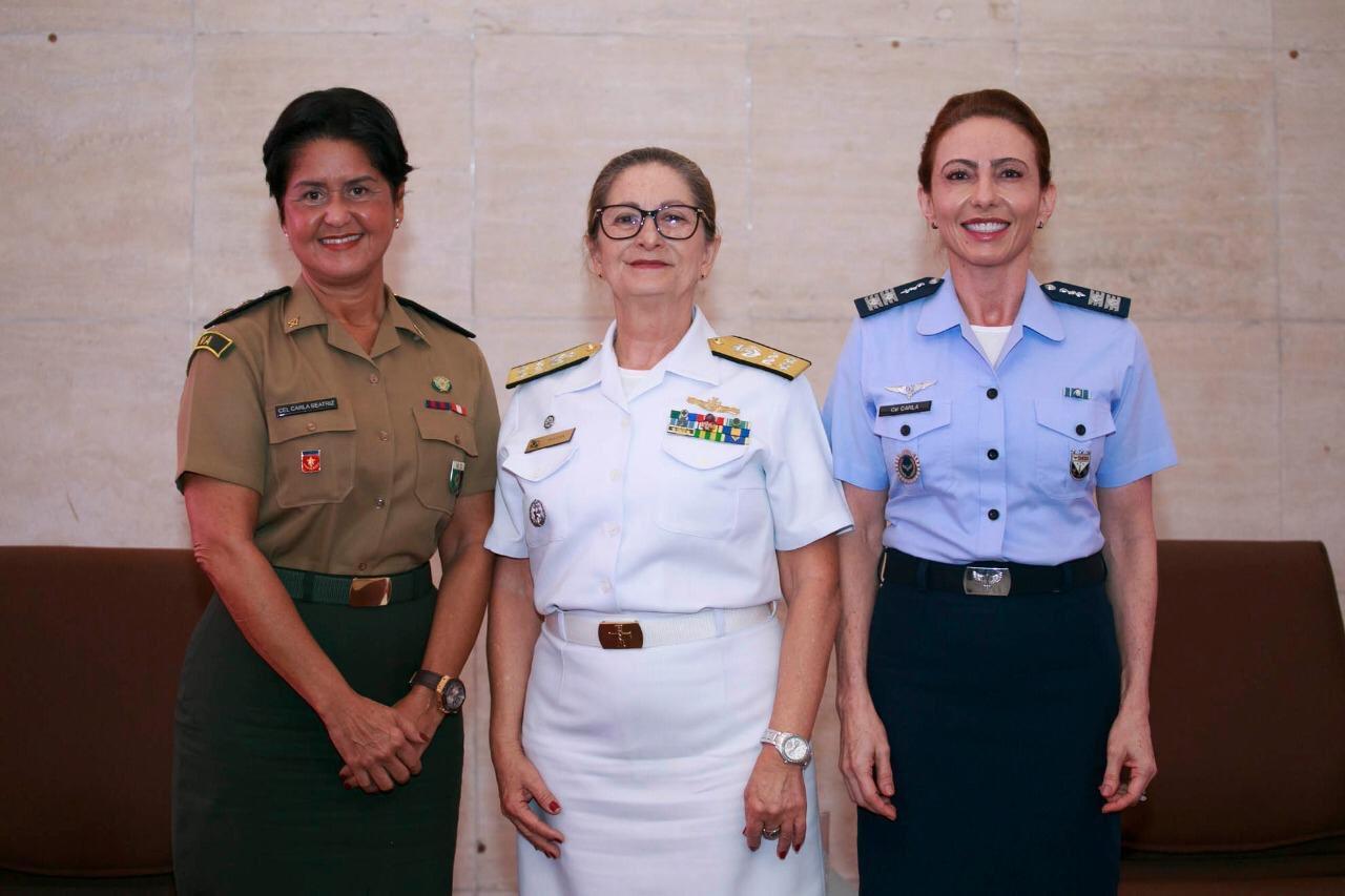 Conheça as três oficiais mais antigas das Forças Armadas do Brasil nos dias atuais