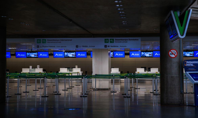 Entrada de estrangeiros nos aeroportos do país é liberado pelo Governo