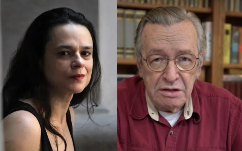 """Janaina Paschoal chama Bolsonaro de """"fantoche"""" e Olavo de Carvalho de """"demônio da Virgínia"""""""