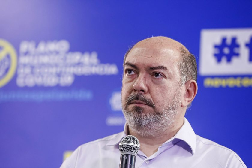 Secretário de Saúde do Recife, Jailson Corrêa.