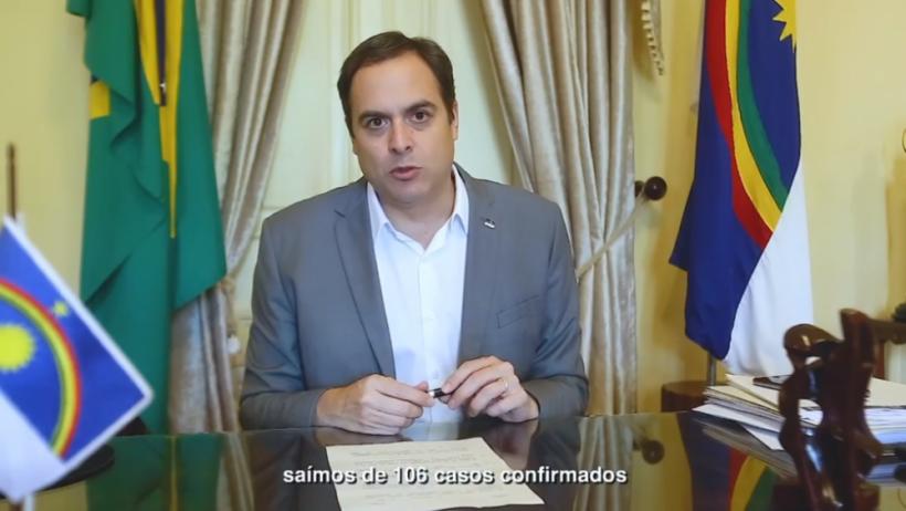 Pronunciamento de Paulo Câmara