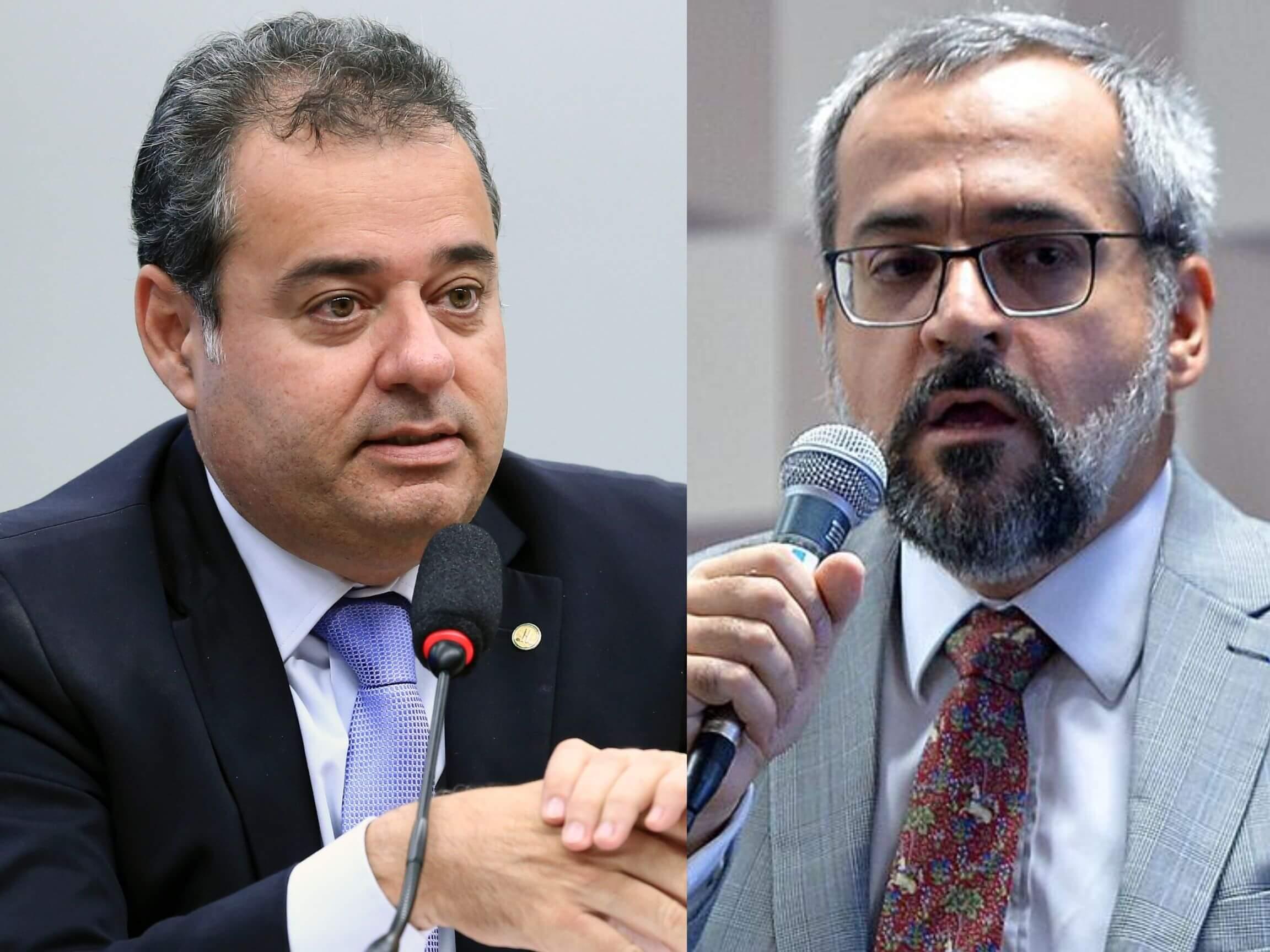 Deputado Danilo Cabral e o ministro Abraham Weintraub