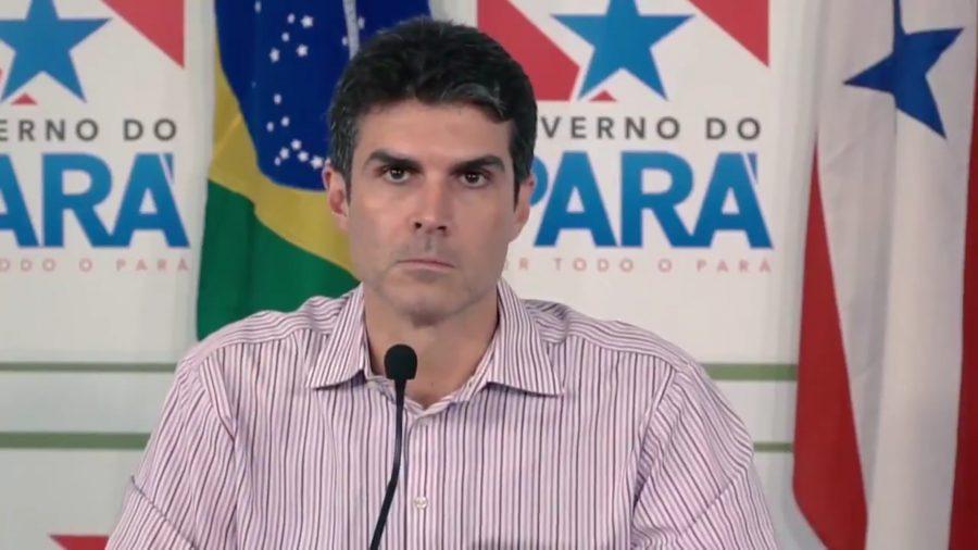 Hélder Barbalho, governador do Pará, é alvo de operação da PF.