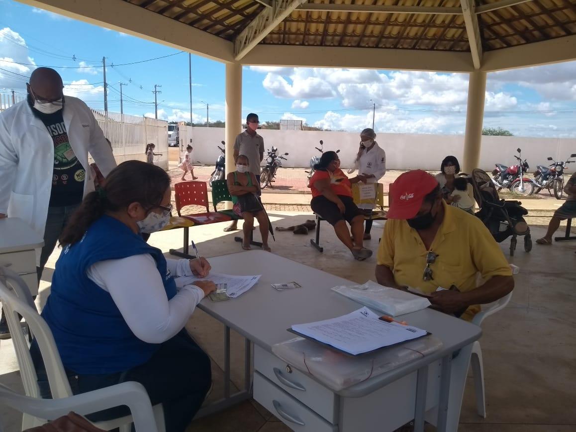 Olhar social: equipes dos Cras levam assistência a famílias da zona rural de Petrolina