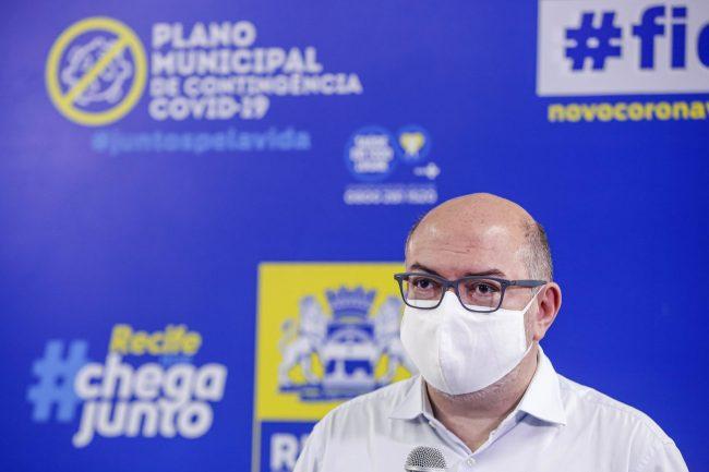 Secretário de Saúde do Recife, Jaílson Correia.