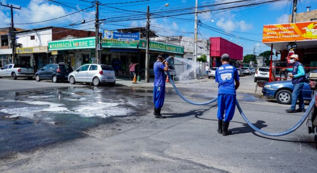 Em Olinda, bairros de Rio Doce e Peixinhos recebem Ação Integrada para combate ao Covid-19