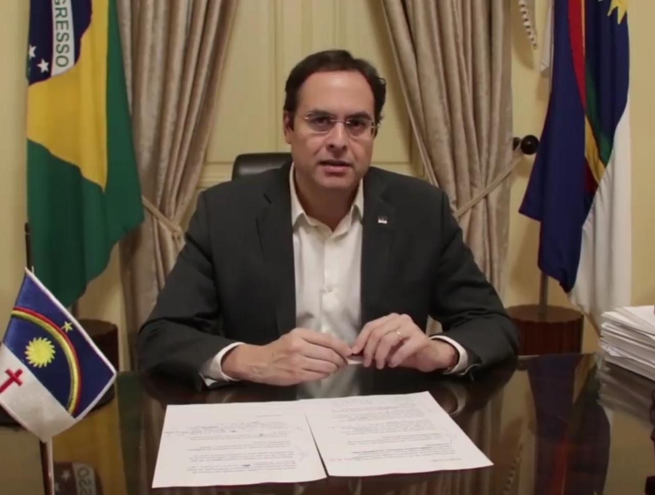 Quarentena rígida não será prorrogada em Pernambuco, diz governador Paulo Câmara