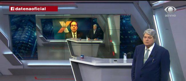 Datena se revolta contra presidente da Caixa sobre possível propina para a tv Band