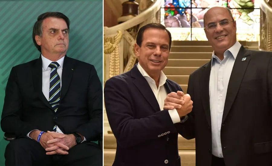 Bolsonaro chama Witzel de 'estrume' e Doria de 'bosta', em vídeo de reunião ministerial