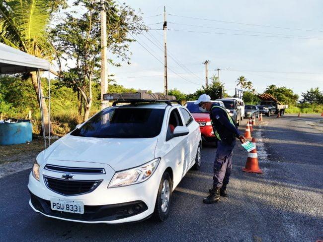 Ações de combate ao Covid-19, na cidade da Ilha de Itamaracá.