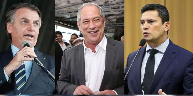 Ciro Gomes defende Bolsonaro e diz que Moro deveria ter sido leal