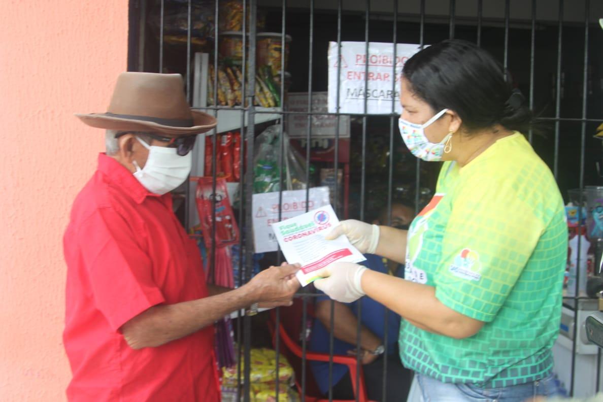 Ação de combate ao coronavírus é intensificada na zona rural de Abreu e Lima