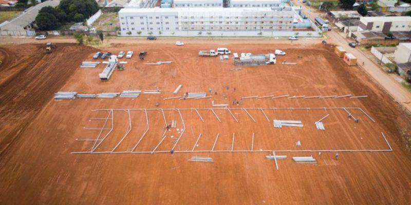 Hospital de campanha construído pelo governo federal em Goiás não tem previsão para abrir