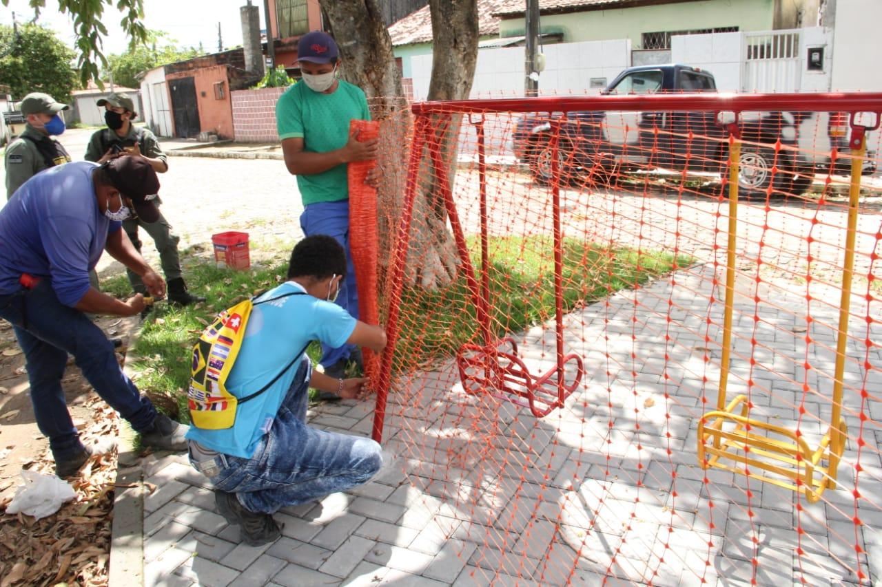 Prefeitura de Abreu e Lima interdita espaços de esportes e lazer como forma de combate ao Covid-19