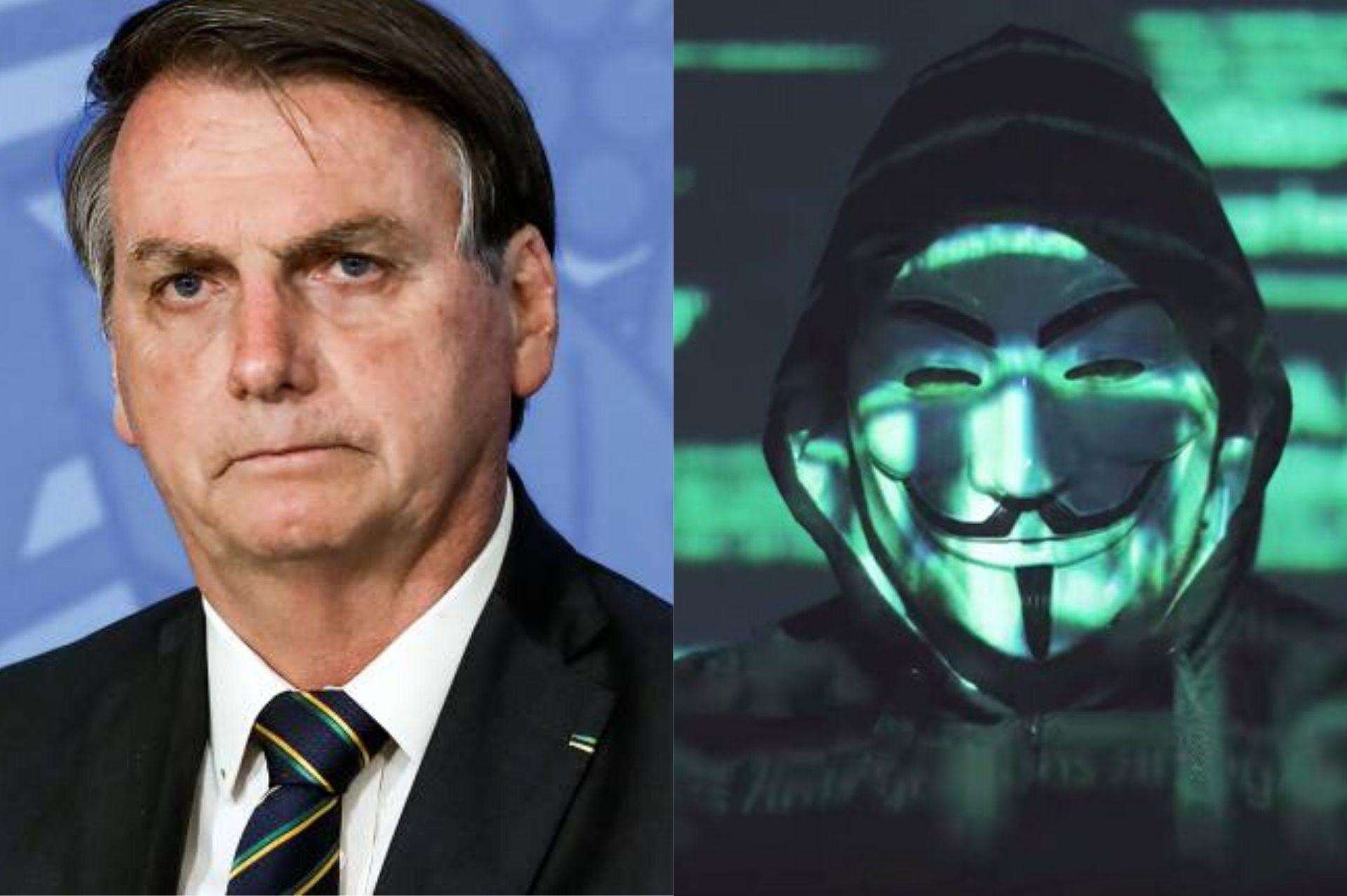 hackers vazam informações sigilosas de Bolsonaro e família