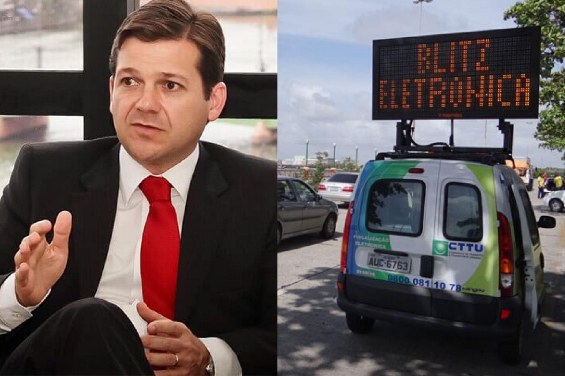 Prefeitura do Recife vai contratar empresa por R$ 2 milhões para auxílio na aplicação de multas de trânsito