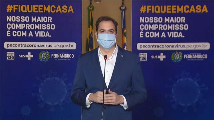 Governador de Pernambuco, Paulo Câmara.