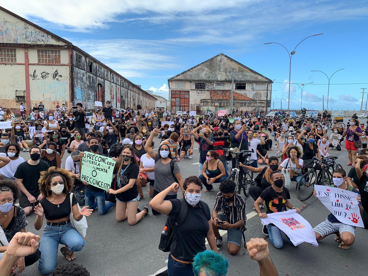 Caso Miguel: Manifestantes vão as ruas pedir justiça após morte de menino
