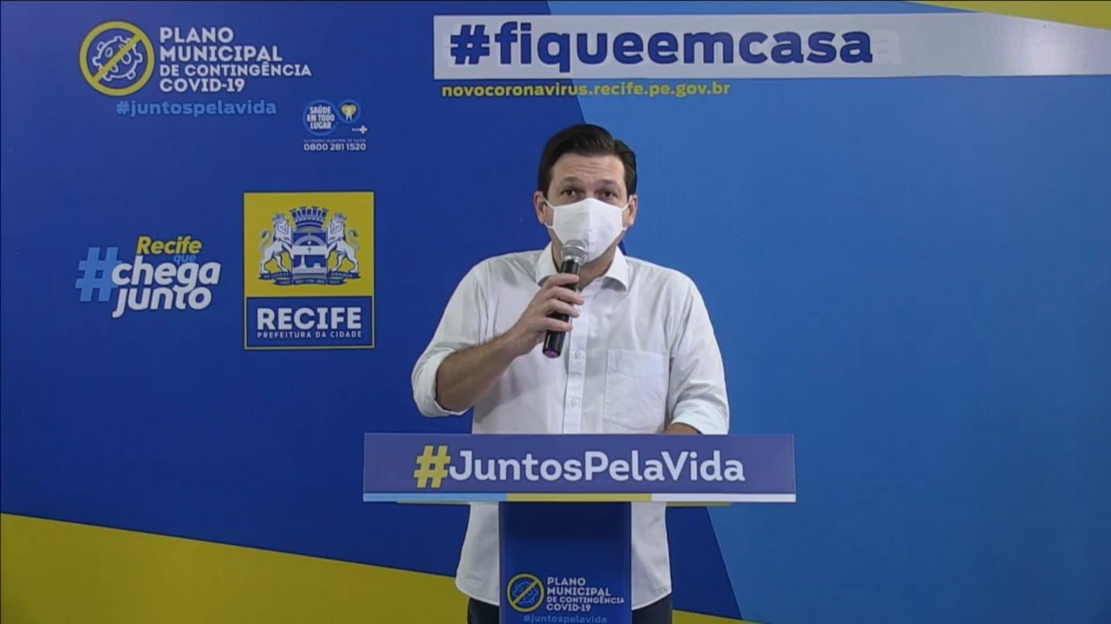 Prefeitura do Recife anuncia que 100 leitos de UTI foram abertos nos últimos dias
