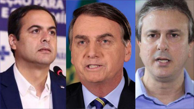 Paulo Câmara (PSB) e Camilo Santana (PT) recusam convite de Bolsonaro para inaugurar trecho da transposição do Rio São Francisco