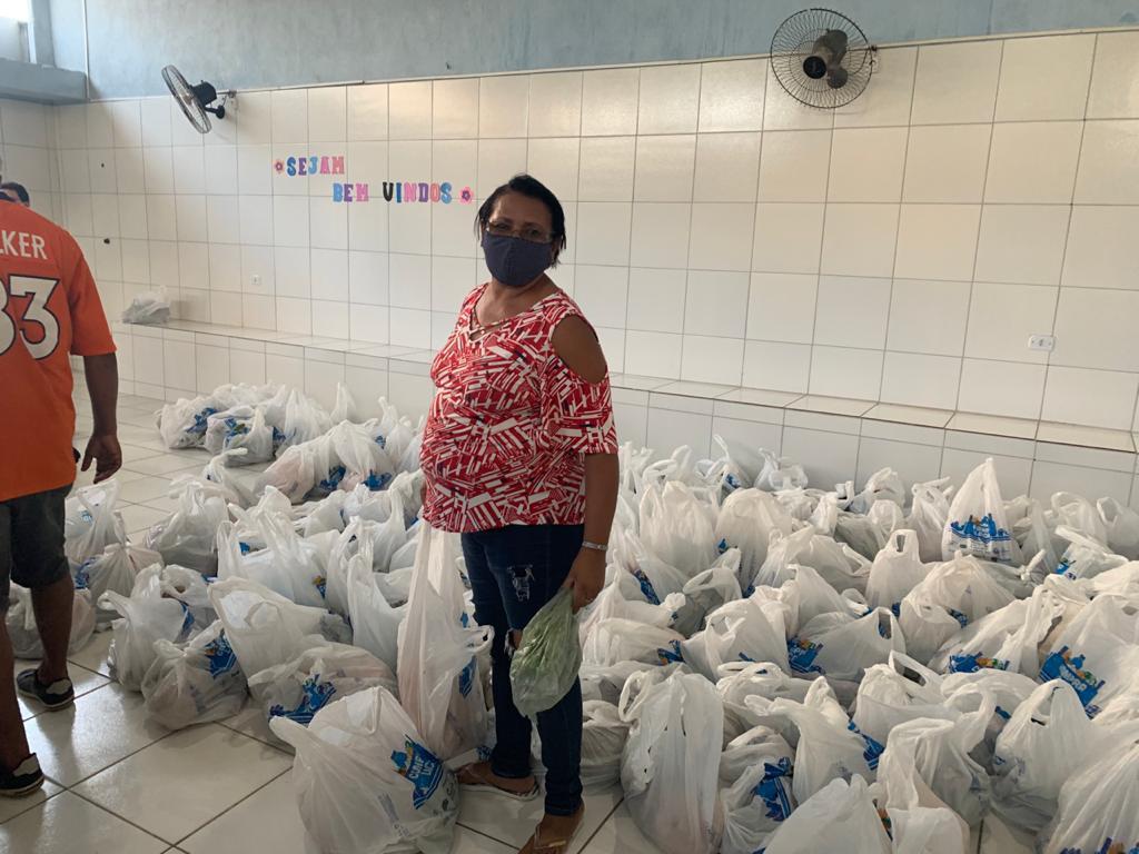Prefeitura de Abreu e Lima firma parceria com Governo para levar alimentos para famílias de baixa renda