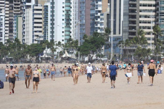 Comércio de praia do Grande Recife avança para Etapa 8 e terá linha de crédito especial