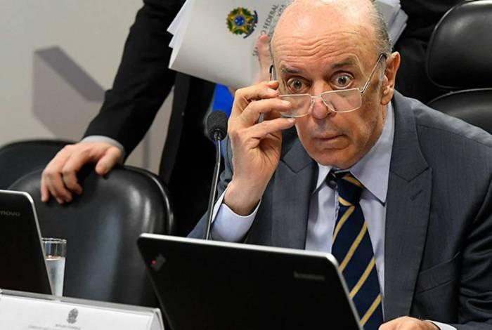 Serra chorou e pediu para ser poupado, em reunião secreta com delator da Odebrecht