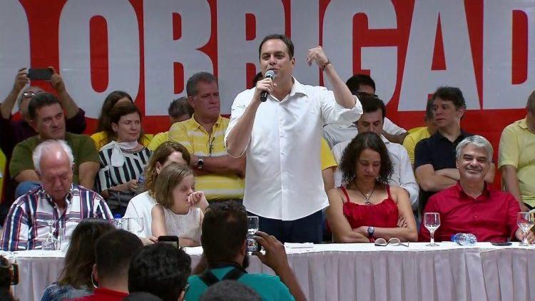 Paulo Câmara exonera cinco servidores para concorrem nas eleições de 2020.