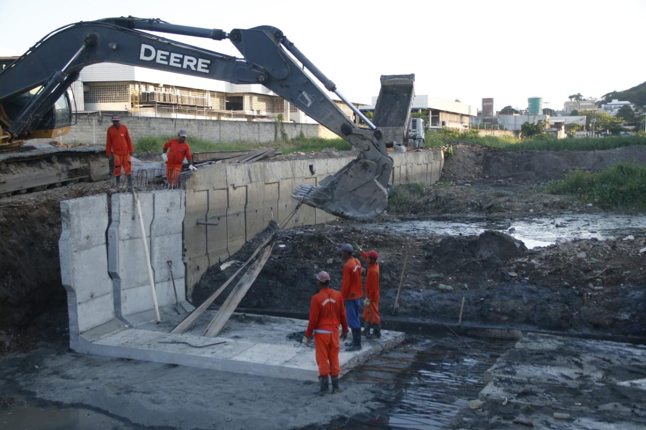 Cidade de Olinda vai investir mais R$ 5 milhões na obra do canal Bultrins-Fragoso