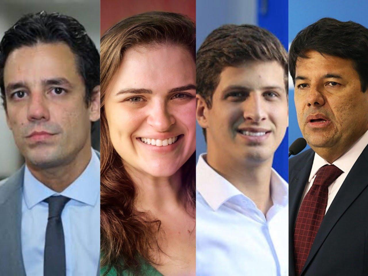 Pesquisa no Recife aponta empate técnico entre Daniel (15,5%), Marília (12,3%), João (9,8%) e Mendonça (9,6%).
