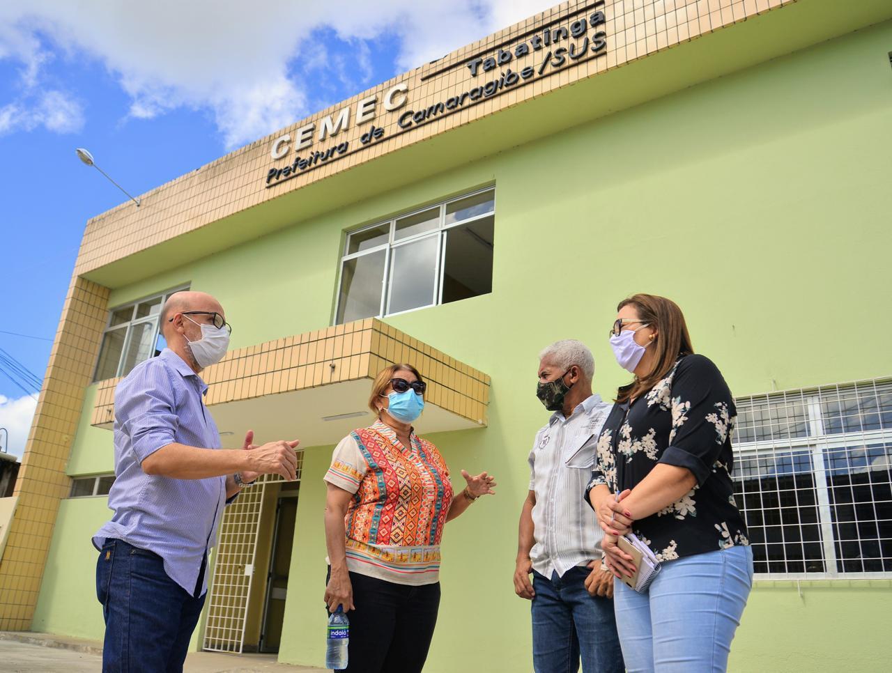 Prefeitura de Camaragibe reabre centro médico em Tabatinga nesta sexta-feira