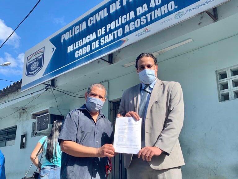 Vice-prefeito do Cabo denuncia furto em seu gabinete no CAM 1