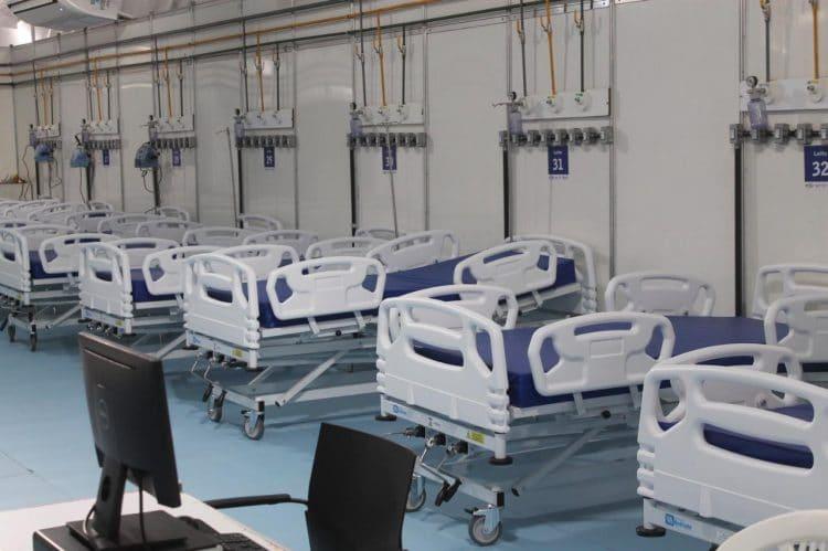 Hospital de Campanha abre 30 novos leitos de enfermaria em Caruaru, região do Agreste de PE