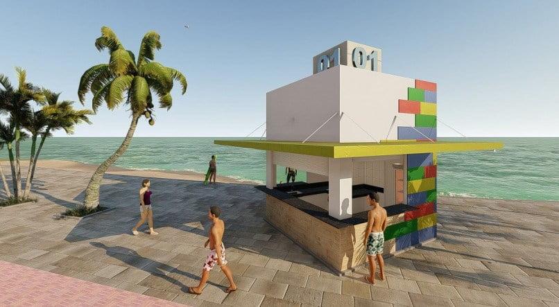 Prefeitura do Recife reitera que não terá custos com obras dos quiosques da orla de Boa Viagem